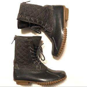 Madden Girl Womens Duck Boots Winter Size 7